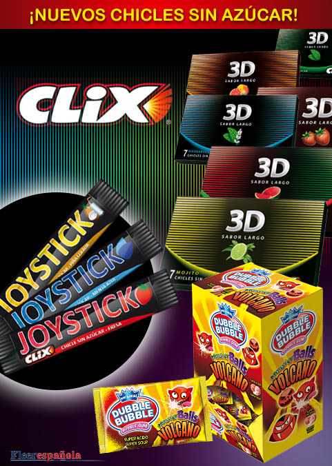 chicles clix